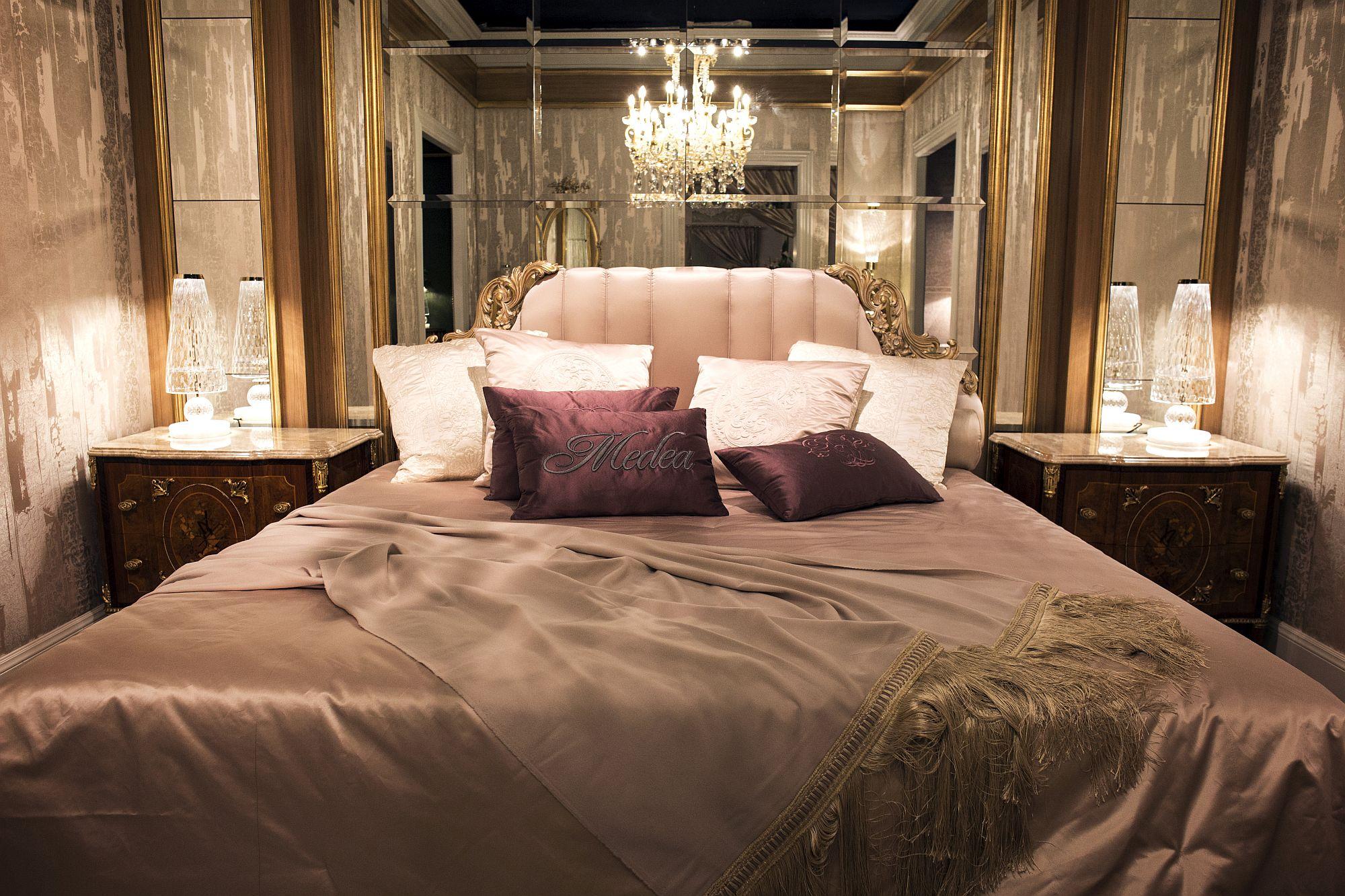 Ultra-luxurious bedroom decor from Medea