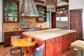 Painting it Bright: 25 Colorful Kitchen Island Ideas to Enliven Your Home