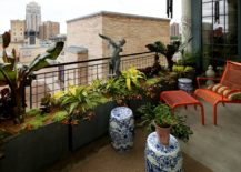 Urban-balcony-garden-with-matte-raised-planters-217x155