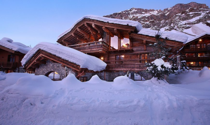 Alpine World of Unparalleled Luxury: Stunning Chalet Marco Polo in Val d'Isère