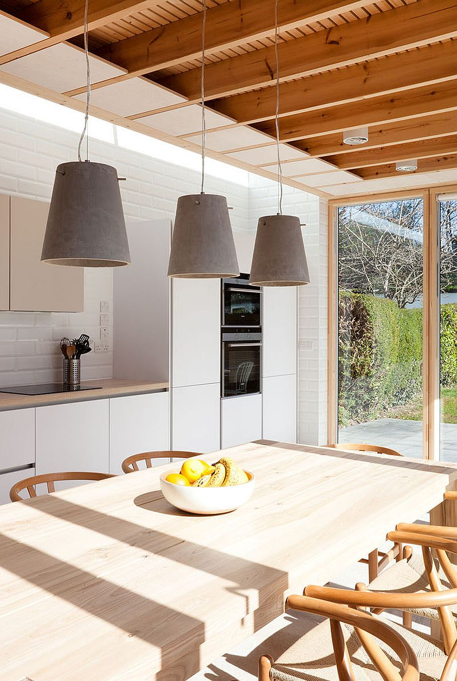 Warm timber surfaces give the interior an inviting appeal