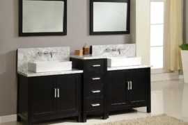 20 Ways to Add a Gorgeous Black Vanity to Your Bathroom