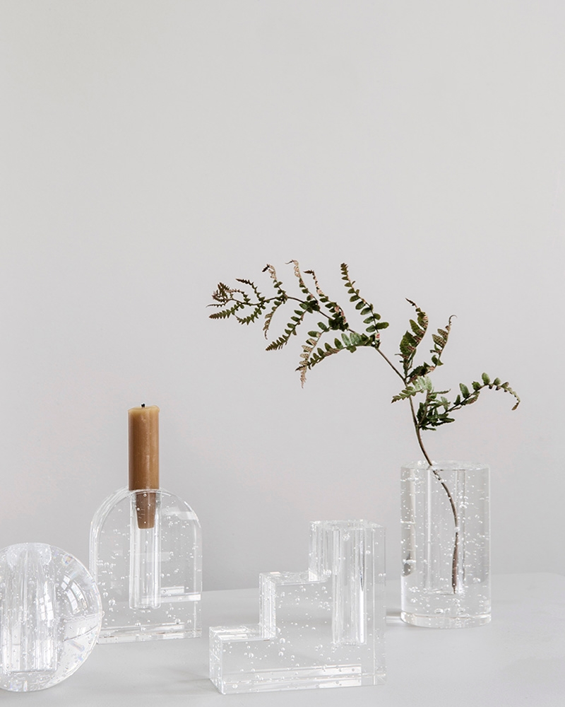 Bubble glass objects from ferm LIVING
