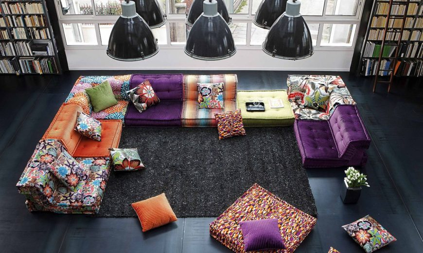 20 Modern Modular Sofas and Sectionals Ushering in Decorating Ease