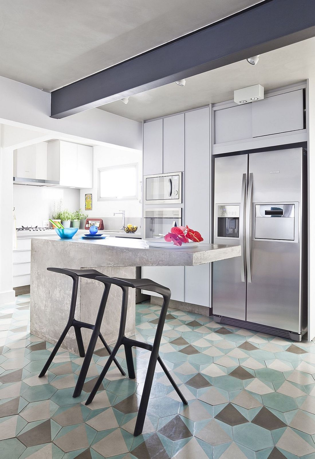 10 Hexagonal Tiles Ideas for Kitchen Backsplash, Floor and More