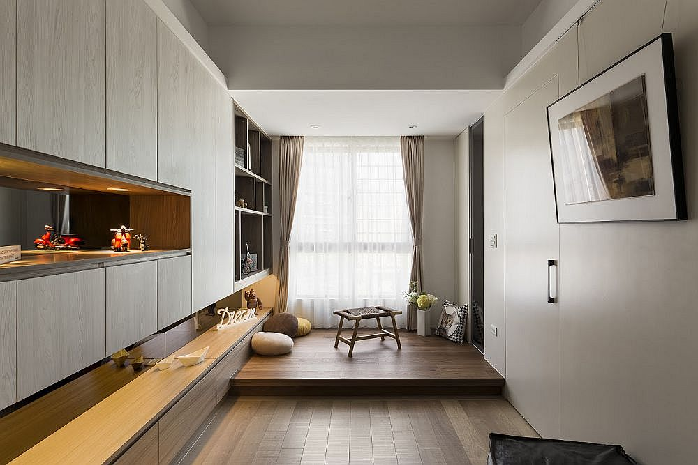 Contemporary tiny apartment design in Taipei City