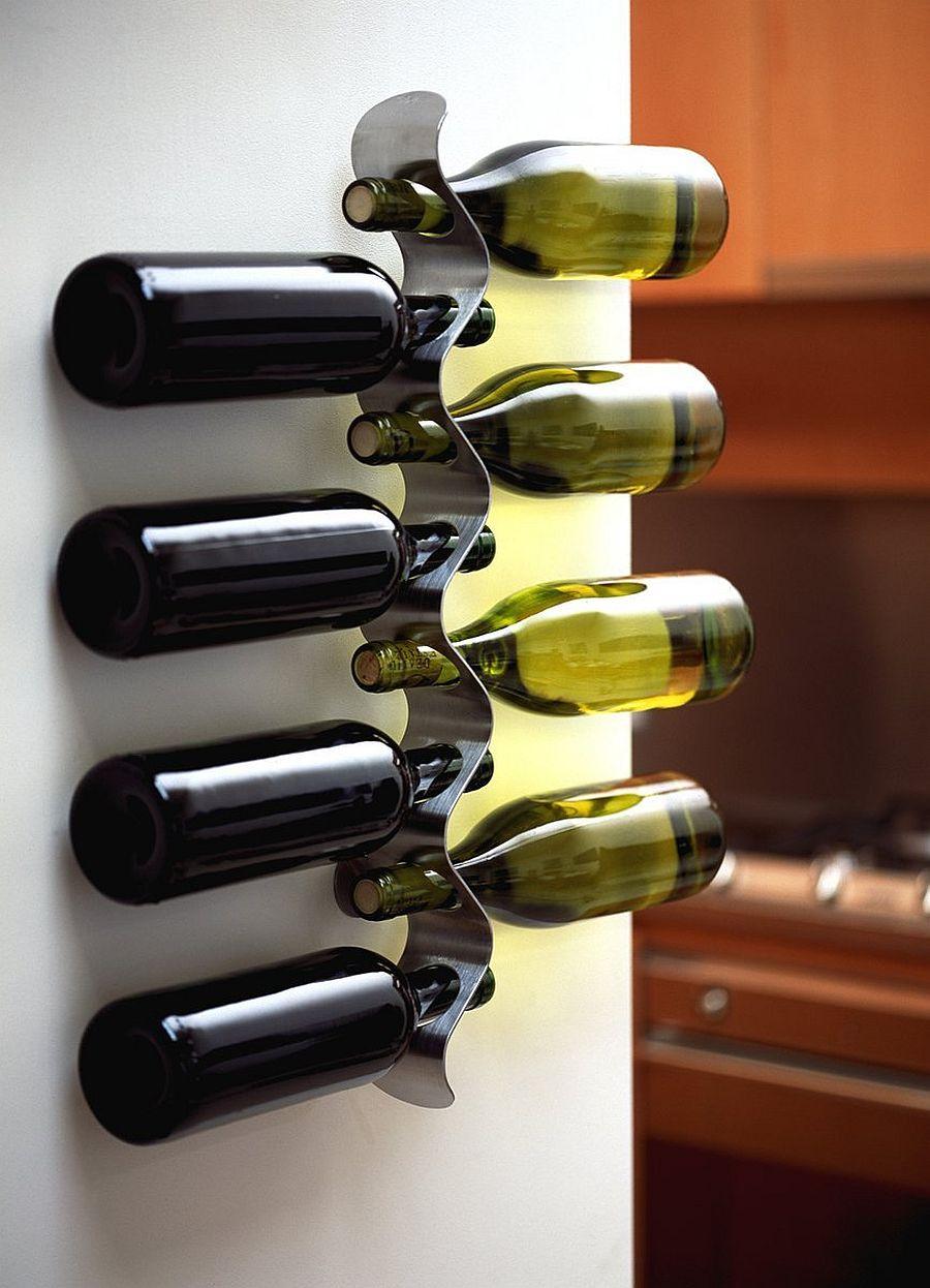 A Homemade Addiction: 13 Delightful DIY Wine Rack Ideas