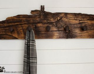 Hang 'Em in Style: 15 Creative DIY Coat Rack Ideas