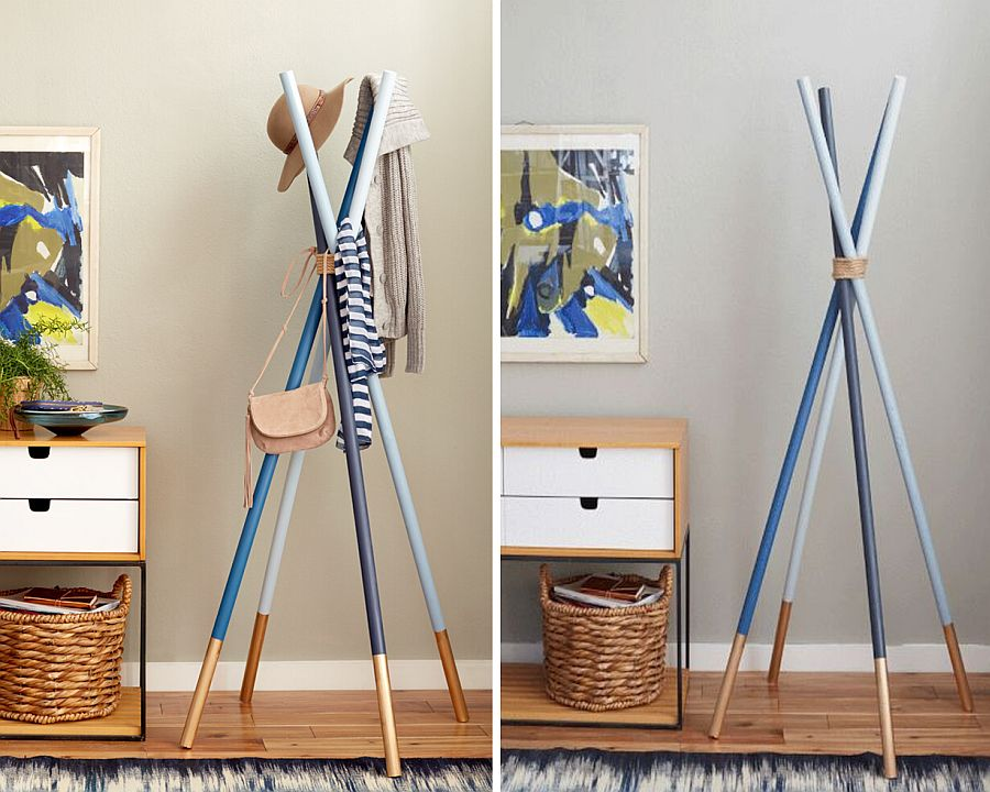 40 DIY Coat Rack Ideas That Are Easy And Fun Classy Making A Coat Rack