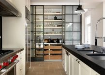 In The Modern Kitchen, The Pantry Can Be Used To Usher In Both Visual And  Textural Contrast. With Contemporary Kitchens Becoming An Extension Of The  Living ...