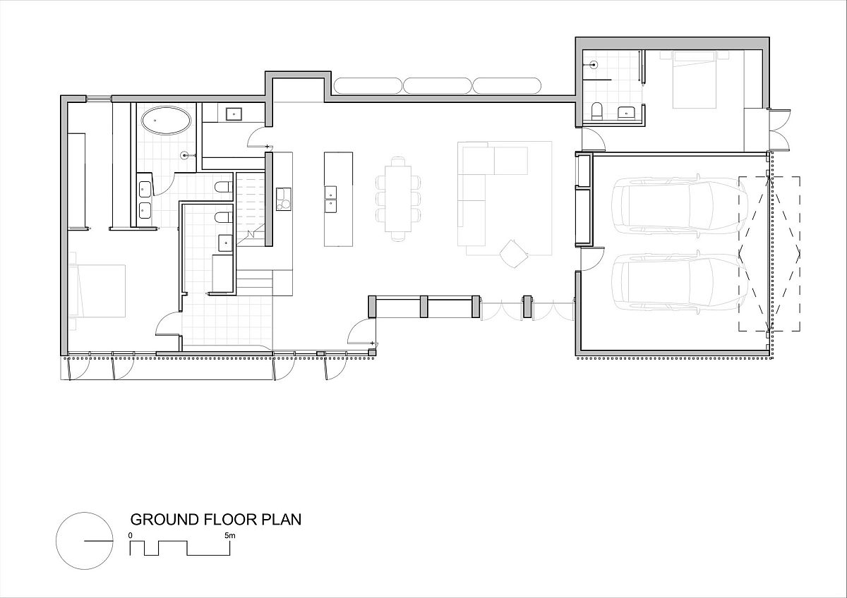 Floor plan of the Moving House in Kew