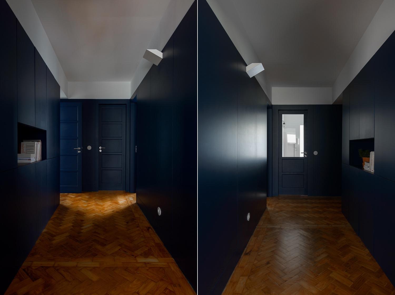 The galvão lisbon apartment by arriba arquitectos has a beautiful atmospheric air