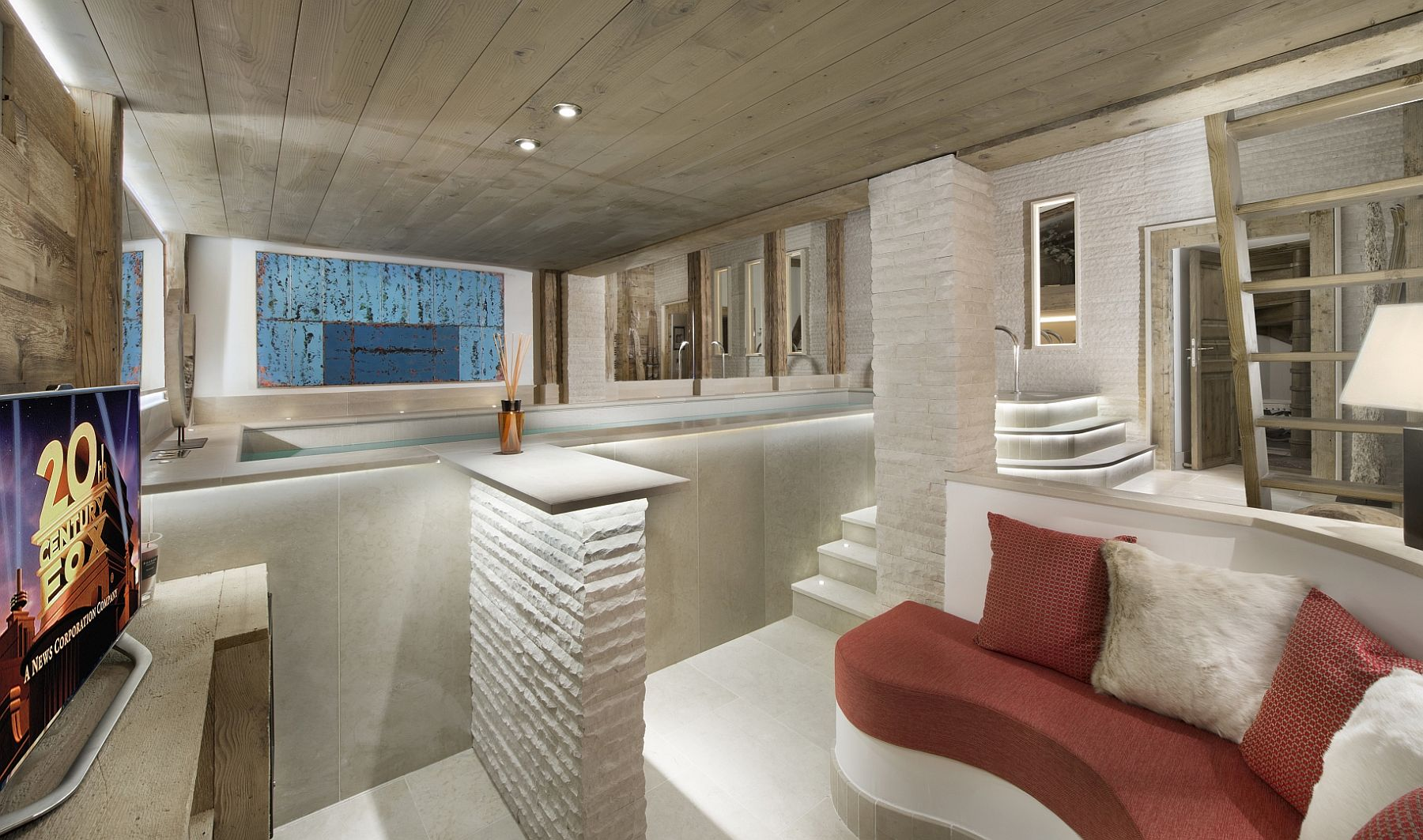 Indoor-swimming-pool-and-relaxation-space-at-the-Le-Namaste