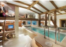 Indoor-swimming-pool-play-area-and-kids-room-at-the-alpine-French-chalet-217x155
