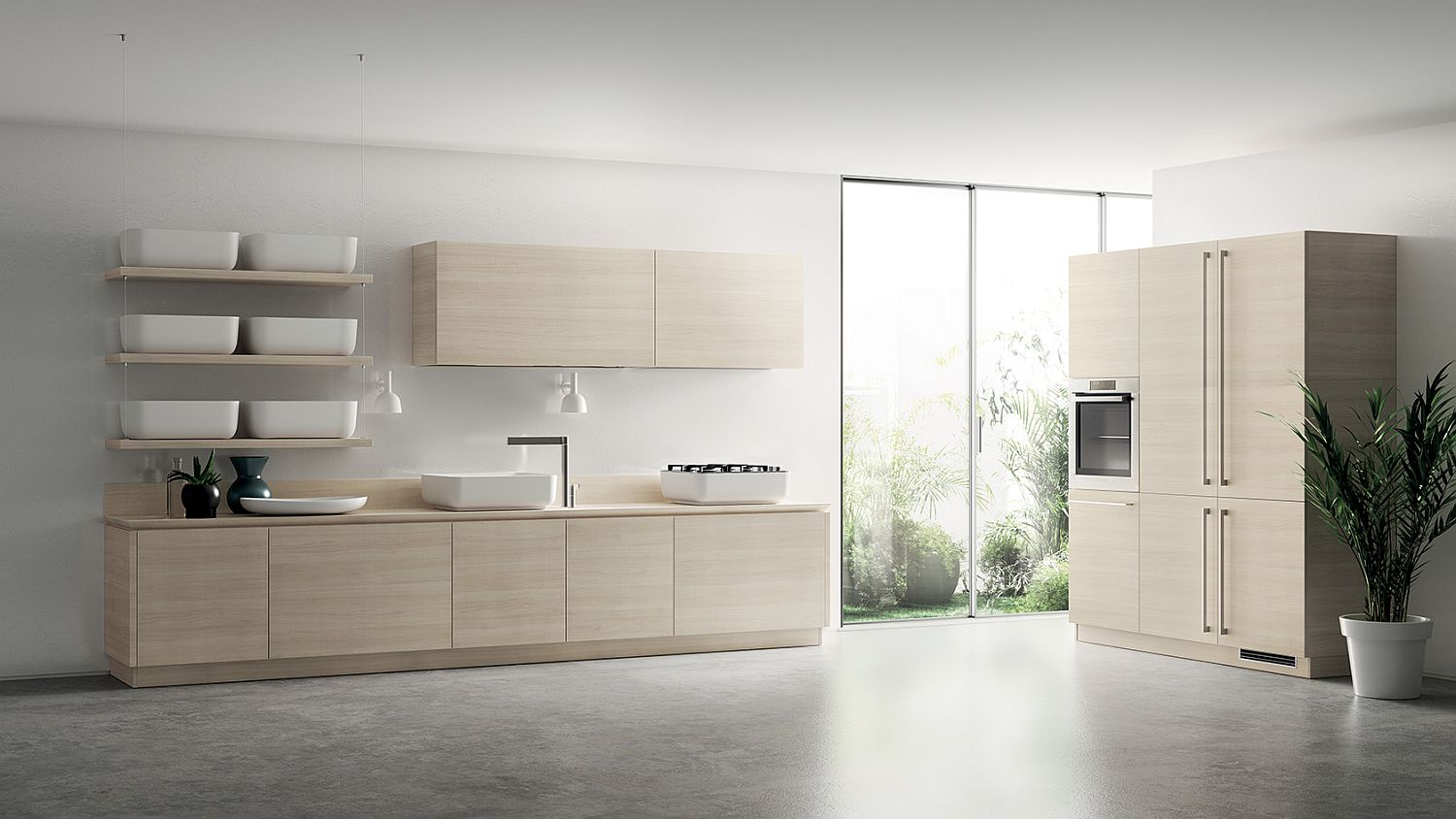 Ingenious and minimal kitchen storage ideas