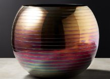 Iridescent vase from CB2 217x155 Grenadine and Other Illuminating Fall Design Trends