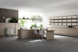Inspired by Japanese Minimalism: Posh Scavolini Kitchen Conceals It All!