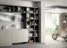 Laundry Space designed by Idelfonso Colombo for Scavolini 217x155 Inventive New Scavolini Composition Combines Bathroom with Laundry Space