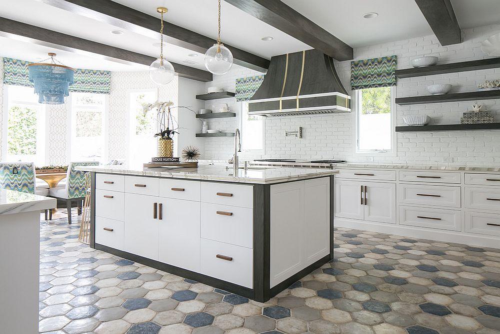 10 Hexagonal Tiles Ideas For Kitchen Backsplash Floor And More