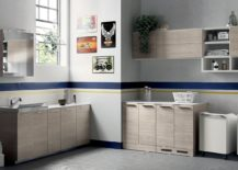 Light filled bathroom and laundry space composition 217x155 Inventive New Scavolini Composition Combines Bathroom with Laundry Space
