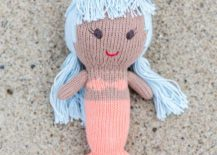 Mermaid doll from The Little Market 217x155 Whimsical Kids Room Trends