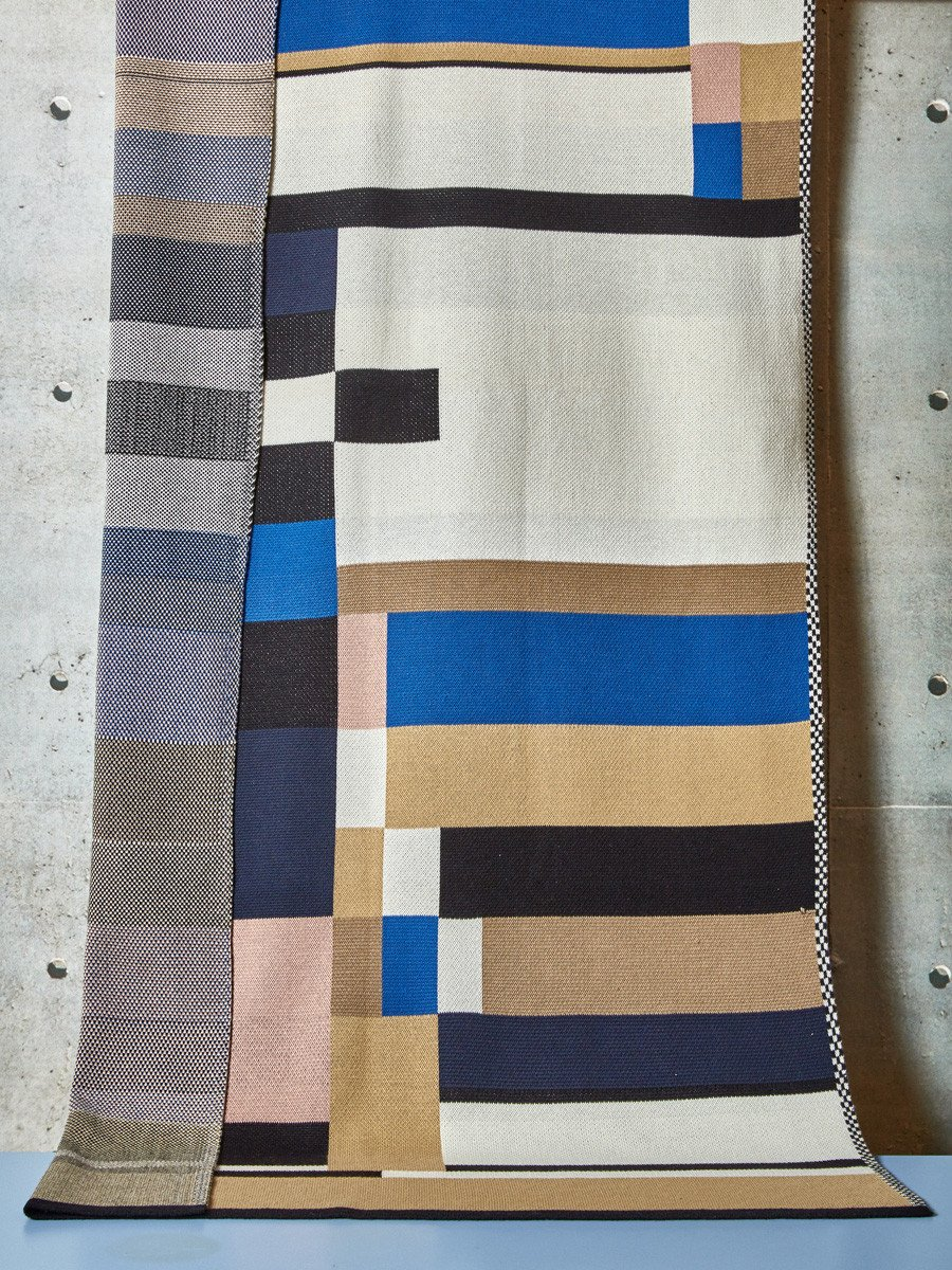 Modern blanket from Bogus Studio