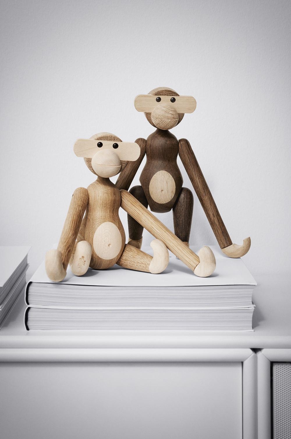 Monkey new woods More Monkey Business: Kay Bojesen Denmark Revisits the Classic Wooden Monkey