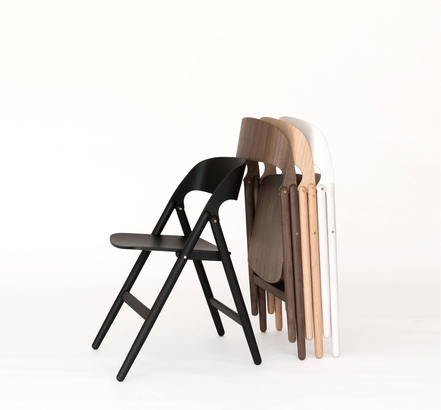 Narin Folding Chair in various finishes