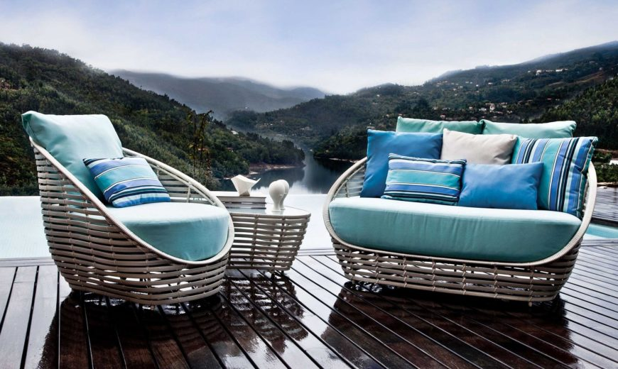 Contemporary Outdoor Décor with Polished Sculptural Style Enchants!