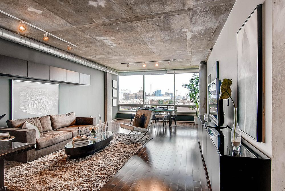 Top 10 Contemporary Rooms with Concrete Ceiling MV98