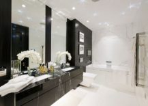 Since Many Among Us Strictly Stay Away From Black, The Idea Of Adding A Black  Vanity To The Bathroom Might Feel A Touch Shocking To Begin With.