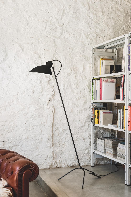 VV Cinquanta floor lamp black
