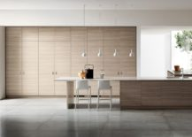 Inspired By Japanese Minimalism Posh Scavolini Kitchen Conceals It All