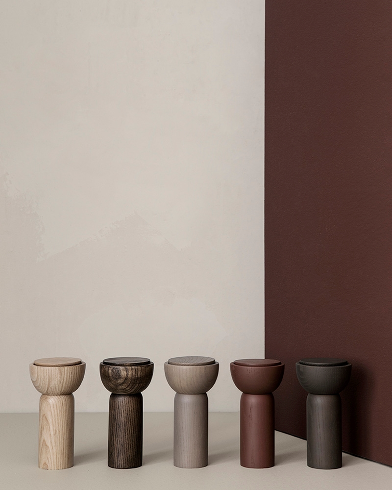 Wooden mills from ferm LIVING