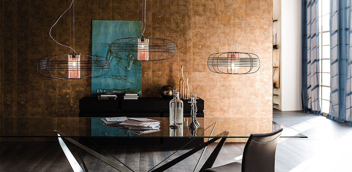 Borosilicate glass and copper net design of Galaxy stands out from the crowd