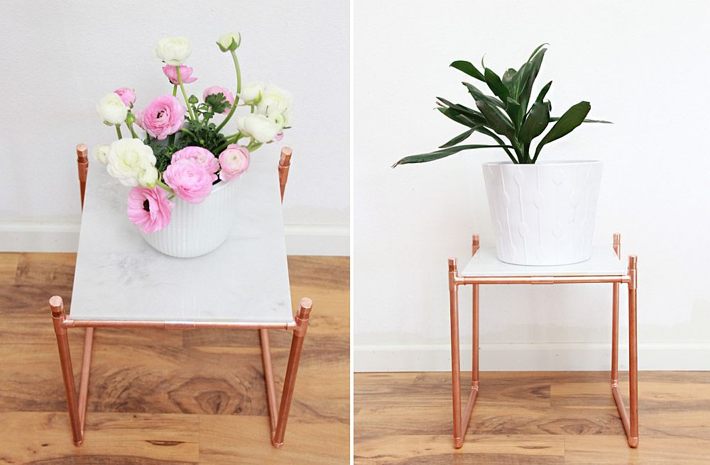 10 Easy And Budget Friendly DIY Side Table Ideas To Try Out