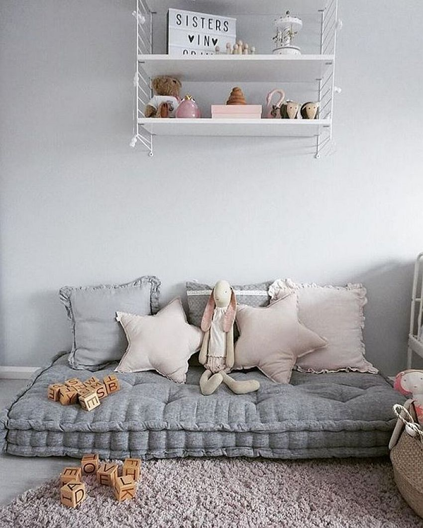 Create A Comfortable Reading Nook With These 10 Seating Ideas: Chic Adaptability: 10 Kids' Rooms With Versatile Modular