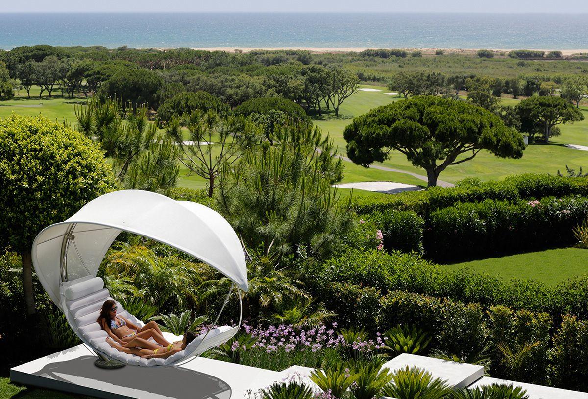 wave  stunning outdoor hammock brings shaded opulence