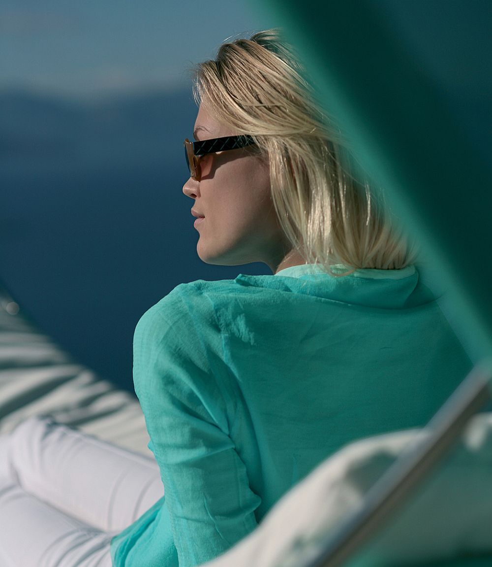 Enjoy the outdoors with the elegant contemporary hammock from Royal Botania