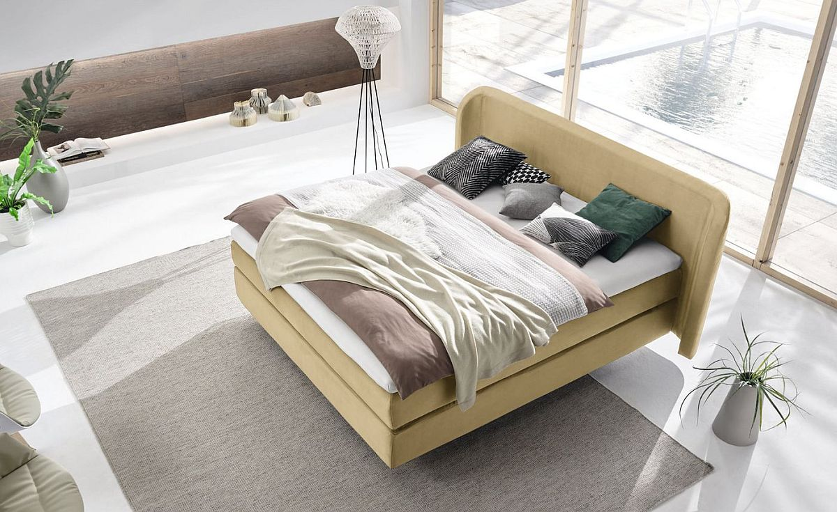 Exquisite bedroom also ushers in a dash of Scandinavian goodness