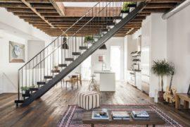 Lorimer Street Townhouse: Light, White and Modern Industrial Panache