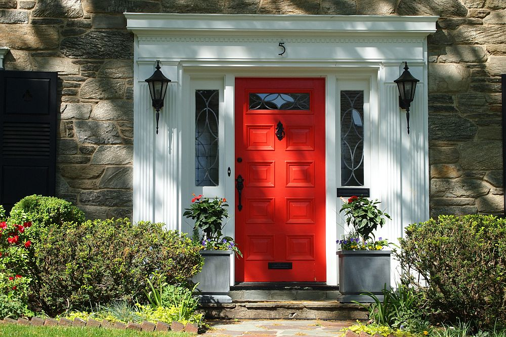 Paint Colors That Go With Red Brick Exterior