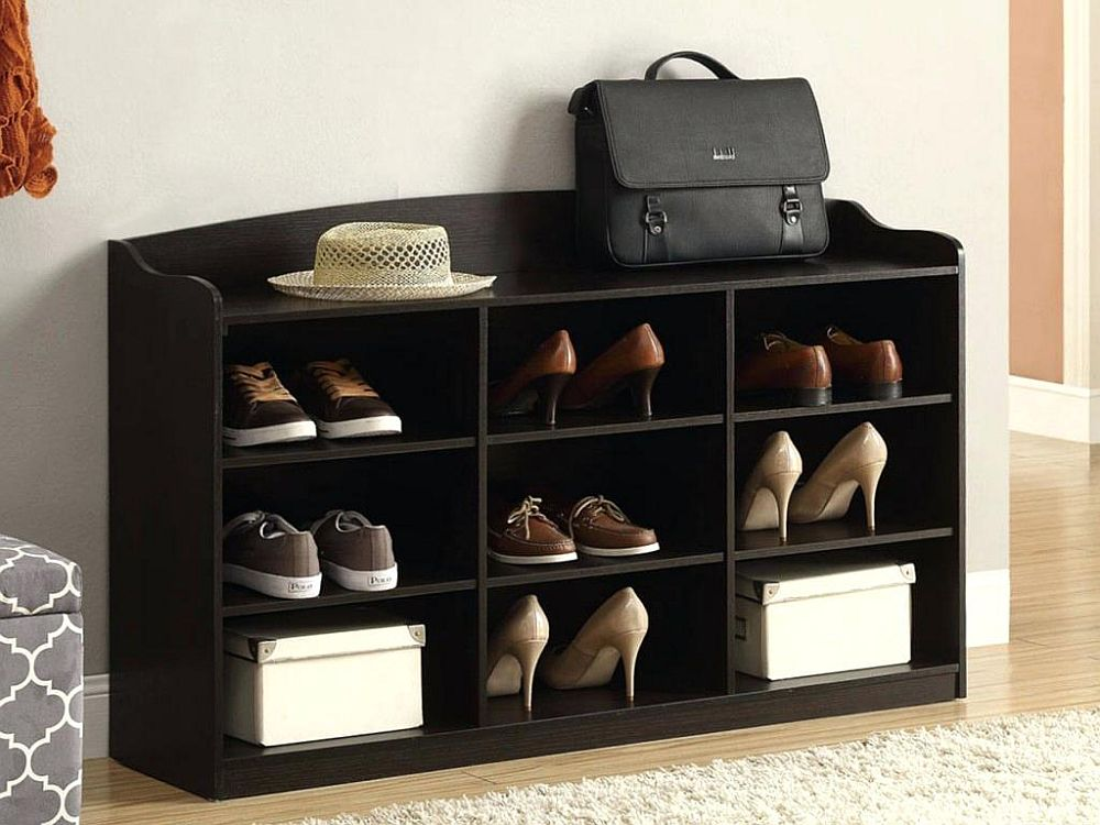 Finding the shoe rack that fits in with the style of your entry