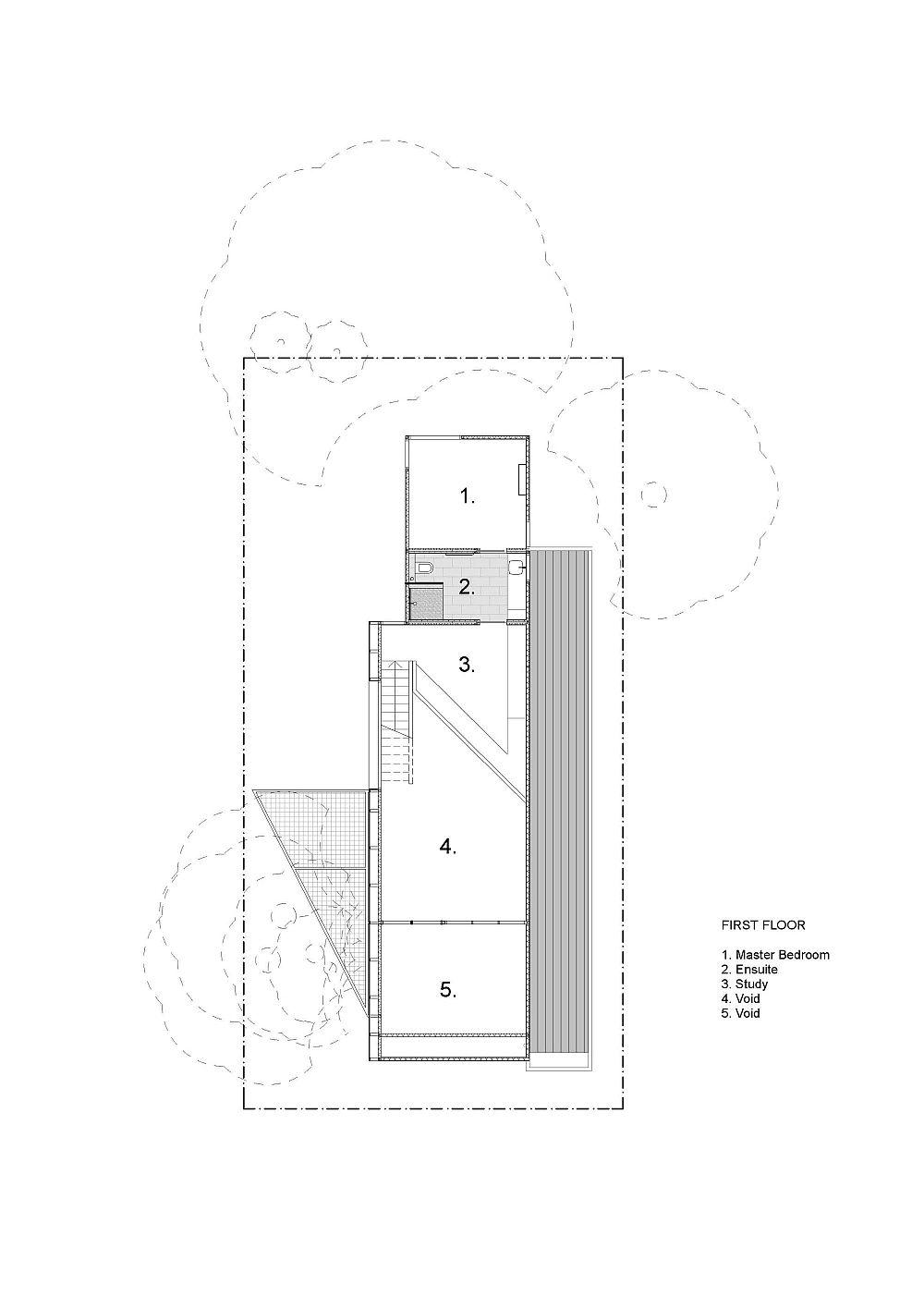 First-floor-plan-of-modern-Aussie-home