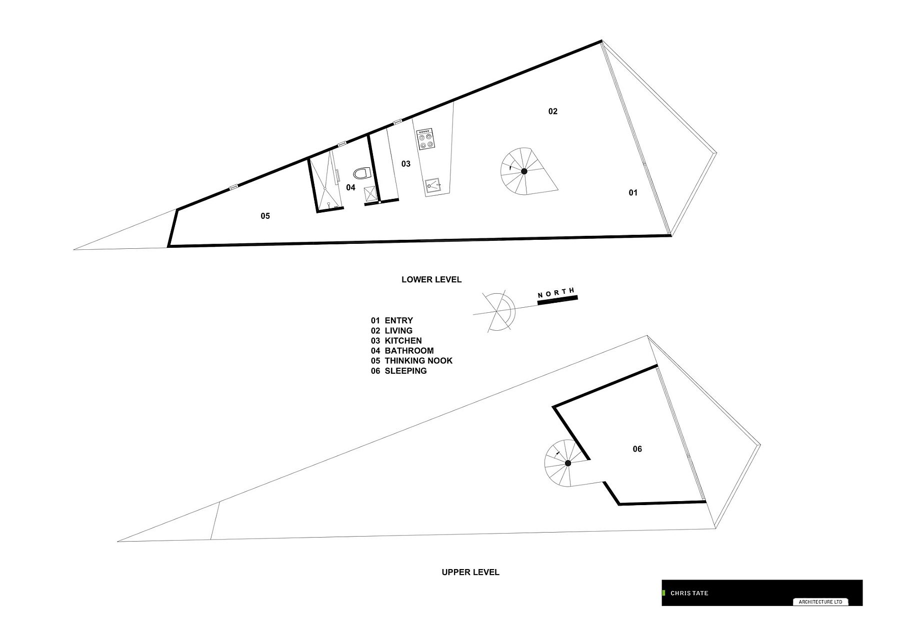 Floor plan of the Tent House