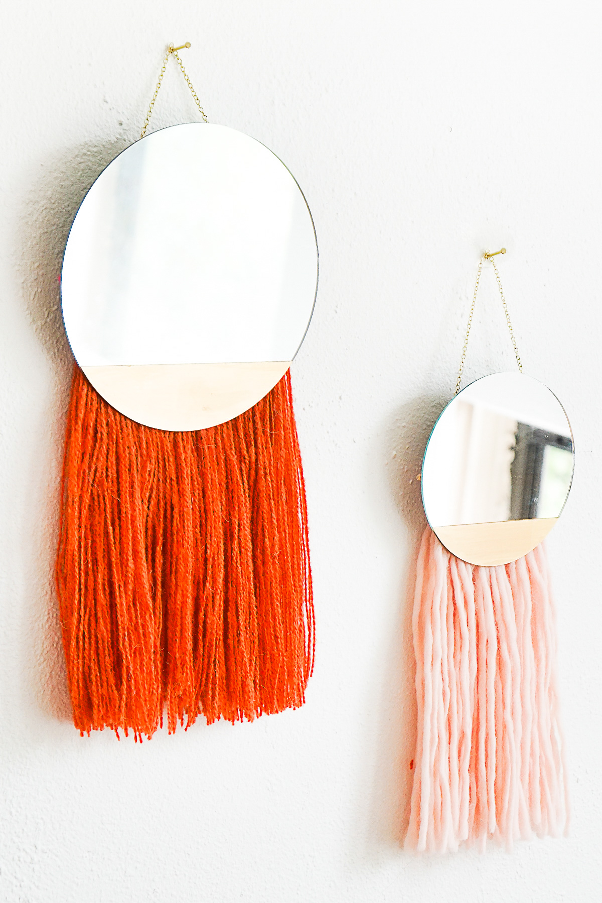 Fringed-mirror-wall-hanging-from-Sugar-Cloth
