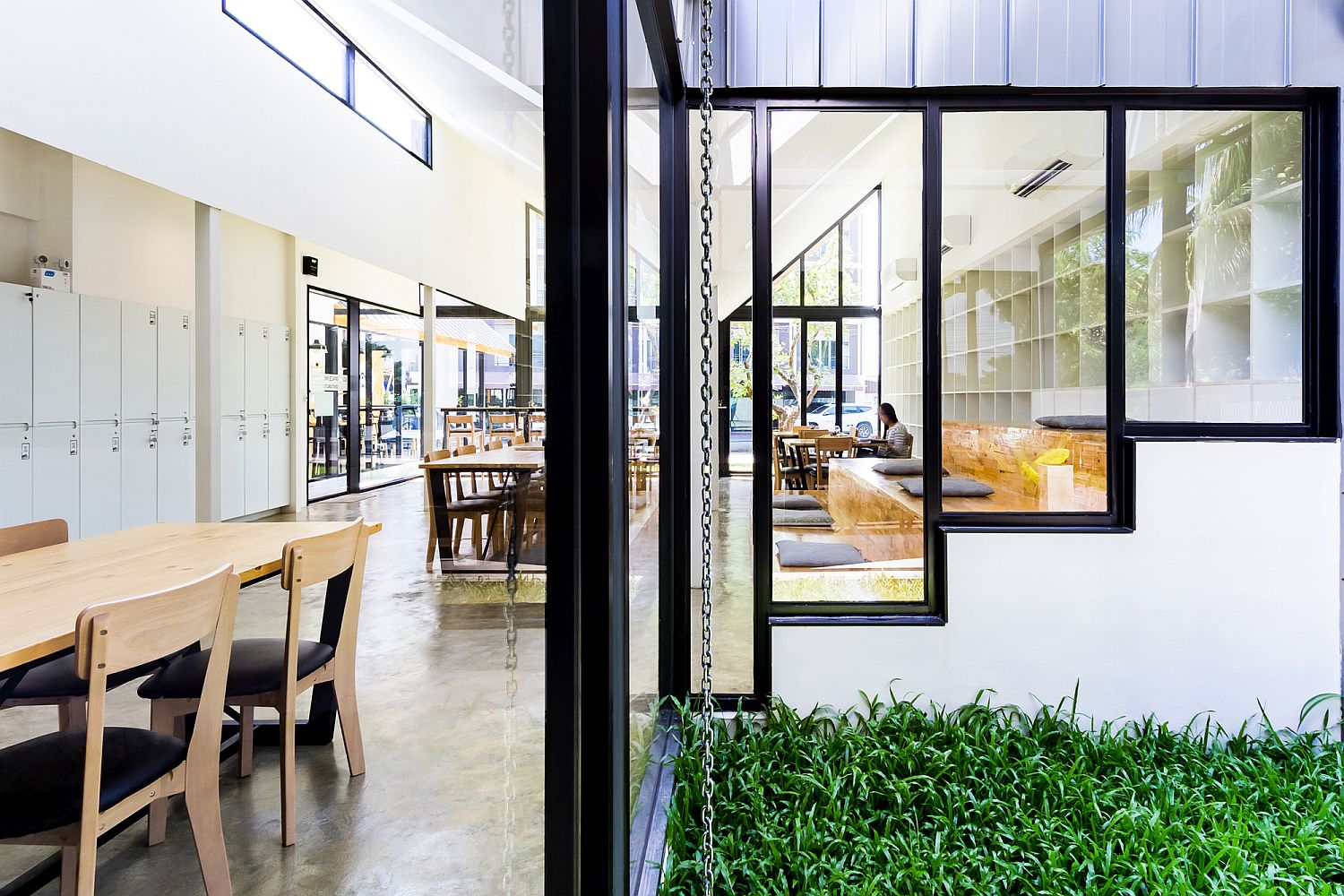 Garden area brings greenery to Code Space