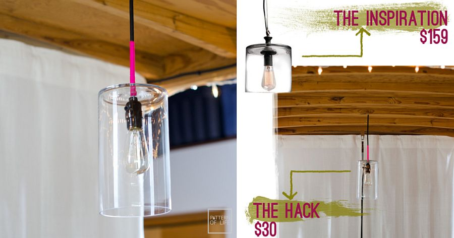 Glass-vase-and-Edison-bulb-DIY-pendant-light