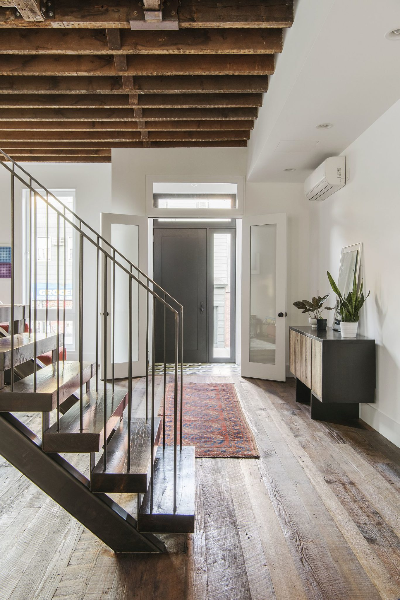 Light Filled Contemporary Living Rooms: Lorimer Street Townhouse: Light, White And Modern