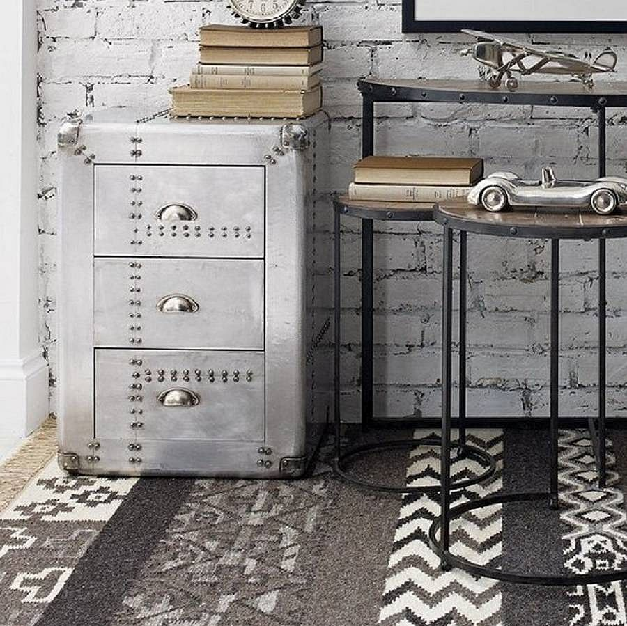 Industrial Style Riveted Chest Drawers